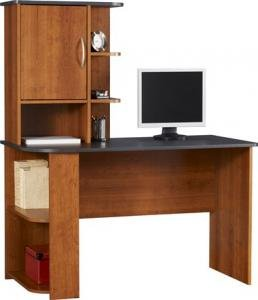 Buy Low Price Comfortable Ameriwood Computer Desk, Cherry (B002QUZZMU)