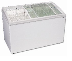 Excellence Rios175 Curved Lid Display Freezer 17.2 Cu Ft front-549489