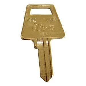 am3 american padlock key blank by taylor box of 50 brass keys. Black Bedroom Furniture Sets. Home Design Ideas