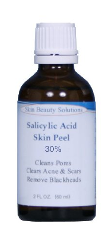 (4 oz SALICYLIC Acid 30% Skin Chemical Peel - Beta Hydroxy (BHA) For Acne, Oily Skin, Blackheads, Whiteheads, Clogged Pores & More (from Skin Beauty Solutions)