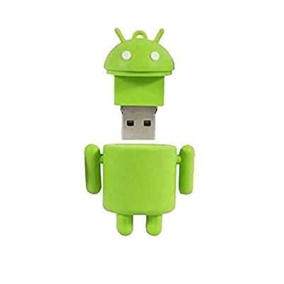 Microware Android ShMicroware 16GB Pen Drive (Green)