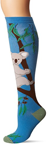 K-Bell-Socks-Womens-Fun-Novelty-Design-Knee-High