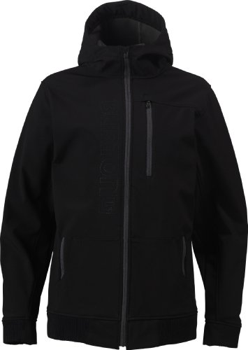 Burton SFSHL HDD Mens Fleece Jacket - XL, True Black