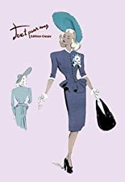30 x 20 Stretched Canvas Poster Classy Suit Dress with Hat and Bag