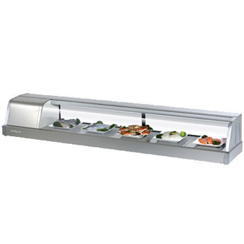 Turbo Sakura-70-L Refrigerated Sushi Display Case, Compressor on Left from Front (Display Case 70 compare prices)
