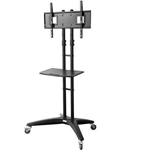 Loctek TV Cart for LCD LED Plasma Flat Panels Stand