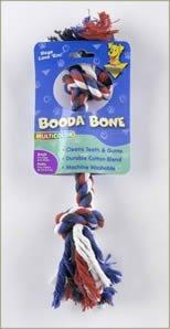 """Brand New Aspen Pet Booda Multicolor Small Rope Bone for Dogs 8-18lbs """"Sale Aspen Pet Booda - Rope Toys"""""""