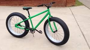 The Crusher - Fat Tire - Sand/Snow Tire Bicycle (Green)