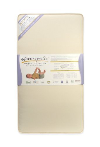 Naturepedic Organic Cotton 2-in-1 Ultra Crib Mattress