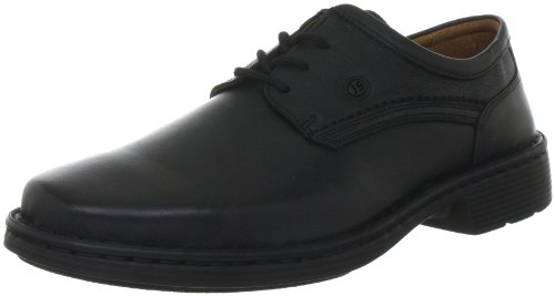 Josef Seibel Men's Talcott Leather Lace-Up Black 38200 23600 6.5 UK