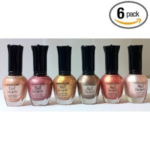 Kleancolor-Nail-Lacquers-6-Colors-Set-5-Warming-Gold