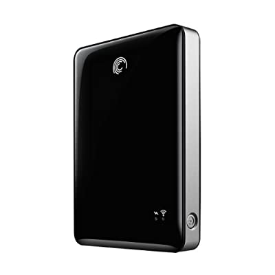 Seagate GoFlex Satellite Mobile Wireless Storage 500 GB USB 3.0 External Hard Drive STBF500101 Black