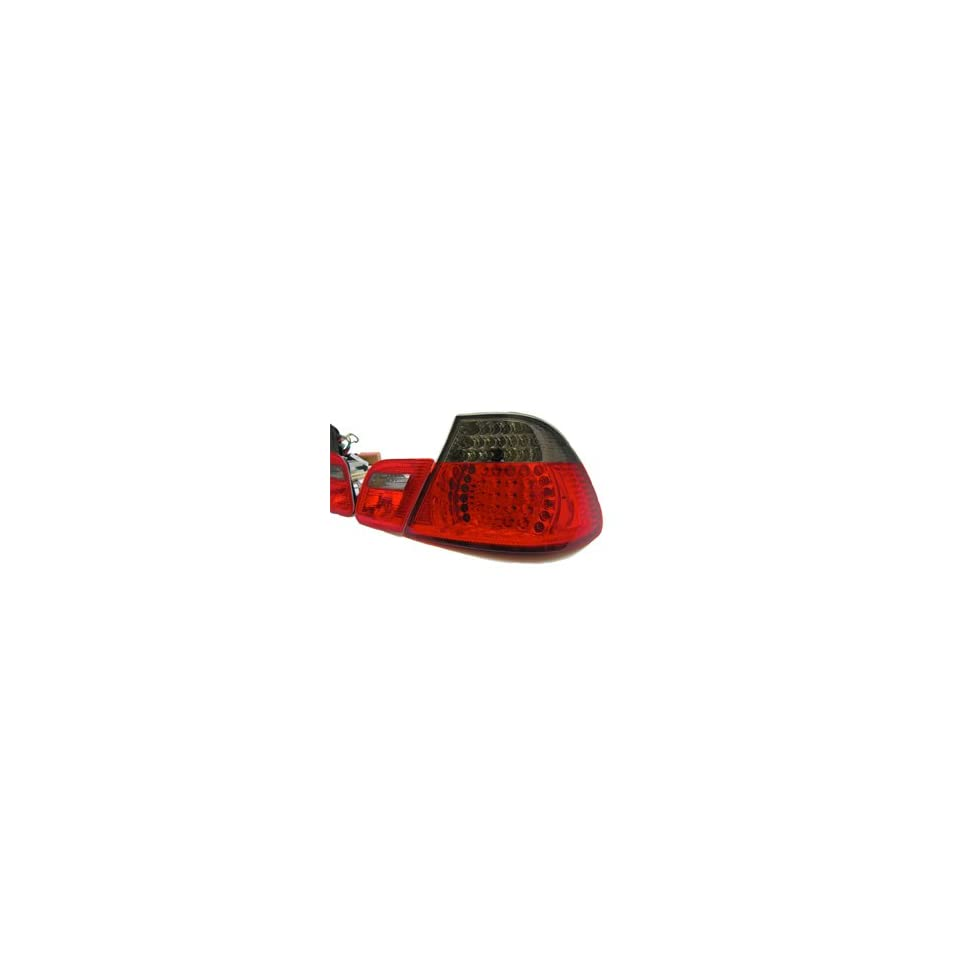 BMW E46 3 Series Convertible Only Smoke LED Tail Lights (99 03)
