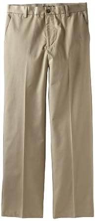 Dockers Mens New Iron Free Khaki D3 Classic Fit Flat Front Pant, British Khaki, 35X30