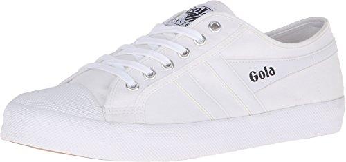 Gola Men's Coaster Fashion Sneaker, White/White, 8 UK/9 M US