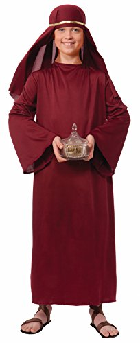 Forum Novelties Biblical Times Shepherd Burgundy Costume Robe, Child Small (Kids Church compare prices)