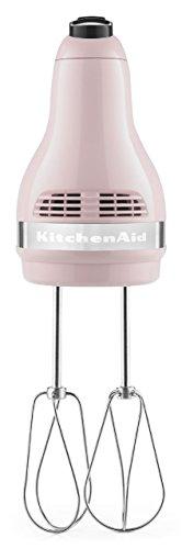 Kitchenaid khm512pk 5 speed ultra power hand mixer pink home garden dining appliance accessories - Pink kitchenaid accessories ...