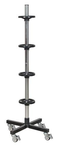 Sealey STR004 Wheel Storage Trolley, 100 Kg Capacity