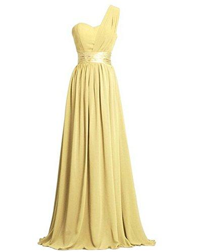 Women's Chiffon One Shoulder Bridesmaids Dresses