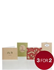 20 Hats & Scarves Christmas Multipack of Cards