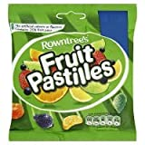 Rowntree Fruit Pastilles Sharing Bag Kids Sweets - 12 x 140gm