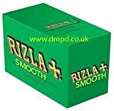 Rizla Green Smooth Paper Full Box Of 100 Booklets
