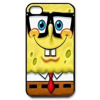 Teentopvogue Spongebob Squarepants Apple Iphone Back Case Compatible Apple Iphone 4 / 4s at Amazon.com
