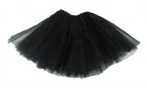 Black Dance Or Ballet Tutu front-709355