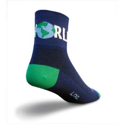 Buy Low Price SockGuy Classic 3in One World Cycling/Running Socks (B007RJH6V8)