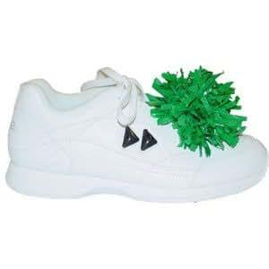 Pair Plastic Shoe Poms, Black
