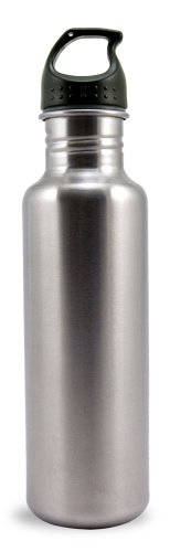 Liquid Logic Excursion Bpa Free Single Wall Stainless Steel Water Bottle (26-Ounce, Stainless) front-569993
