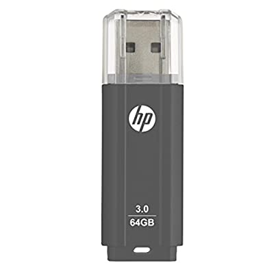 HP x702w 64GB USB 3.0 Flash Drive - Speed Approximately 10X Faster Than USB 2.0 - P-FD64GHP702-GE