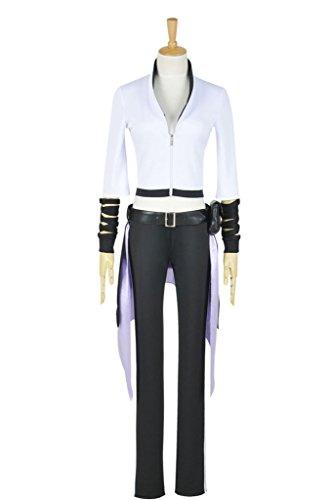 [CosplayNow RWBY Season 2 Blake Belladonna Cosplay Costume Uniform White XS] (Blake Rwby Costume)