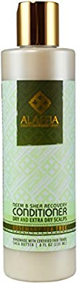 Alaffia Neem & Shea Butter Scalp Recovery Conditioner - Rosemary Tea Tree - 8 oz