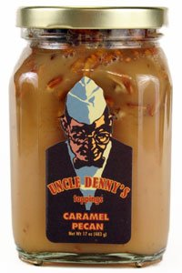 Uncle Denny's Caramel Pecan Gourmet Ice Cream Topping