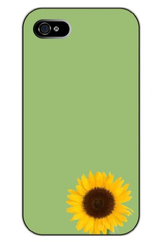 Sprawl Snap On Case For Iphone 5 5S--Cute Cartoon Sunflower