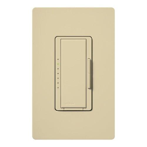 150 Watt Max. - Wireless 150W Cfl/Led Or 600W Incan/Halogen Dimmer - Multi-Location - Tap And Rocker Switch - Ivory - 120 Volt - Lutron Maestro Mrf2-6Cl-Iv