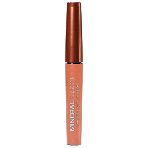 Mineral Fusion Natural Brands Lip Gloss, Clarity, 0.135 Ounce by Mineral Fusion