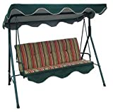 Bonnevie 3 Seat Swing with Canopy