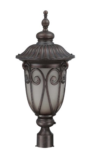 nuvo lighting 60 3931 corniche outdoor large post lantern. Black Bedroom Furniture Sets. Home Design Ideas
