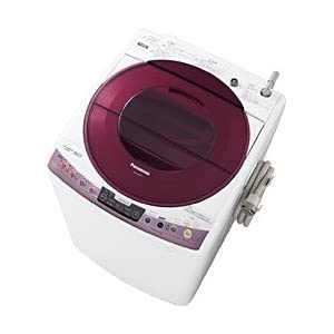 【クリックで詳細表示】パナソニック 8.0kg 全自動洗濯機 ピンクPanasonic ECO NAVI エコウォッシュシステム NA-FS80H6-P