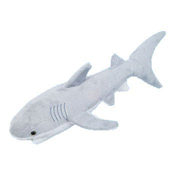 Adventure Planet Plush - Great White Shark (18 Inch) front-973347