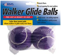 RMS Walker Glide Balls (Purple)