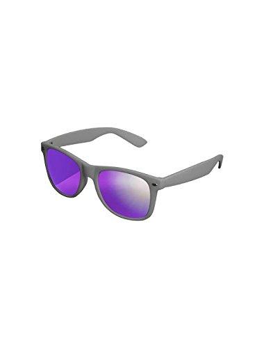 Masterdis Mstrds Shades Likoma Mirror Sunglasses UV400 Occhiali da Sole Specchiati Colore grey/purple