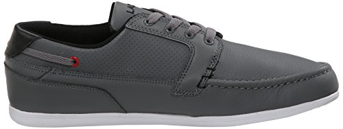 Lacoste Men's Dreyfus QS1 Casual Shoe Fashion Sneaker, Grey/black, 12 M US