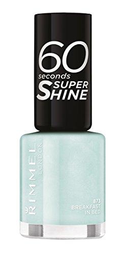 Rimmel London - 60 Seconds Supershine, Smalto per unghie ultra brillante, N. 873 Breakfast In Bed, 8 ml