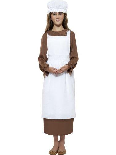 Kids Colonial Girl Costume Kit - 1