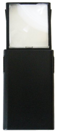 Mighty Bright 86010 Led Pop-Up Magnifier & Light, Black