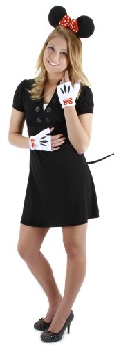 minnie mouse costume for halloween for adults, kids, toddlers