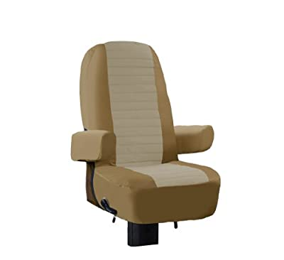 Classic Accessories 80-112-012401-00 Overdrive RV Captain Seat Cover (Alder and Natural)